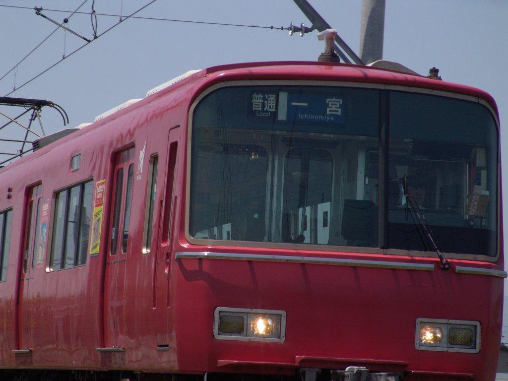 名鉄一宮津島線の苅安賀駅から ...