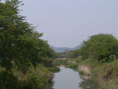 季節を変えて、新郷瀬川と五条川...